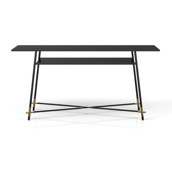 112240 4 600x600 - Platon Console Table with Open Shelf