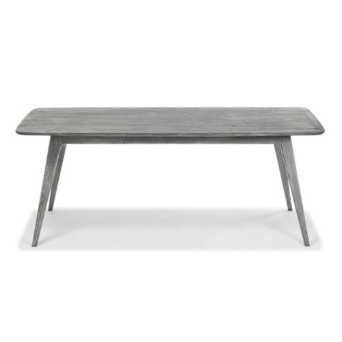 Miami Dining table light grey oak stain front 500x500 - Myron Small Dining Table