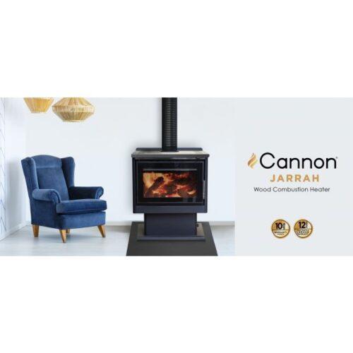 cannon jarrah web slider 1  500x500 - Cannon Jarrah Freestanding Woodheater