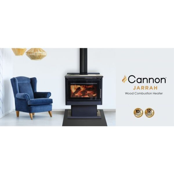cannon jarrah web slider 1  600x600 - Cannon Jarrah Freestanding Woodheater